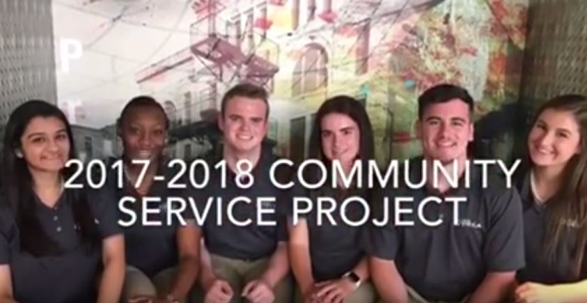2017-2018 Community Service Project - Fuel Up to Play 60