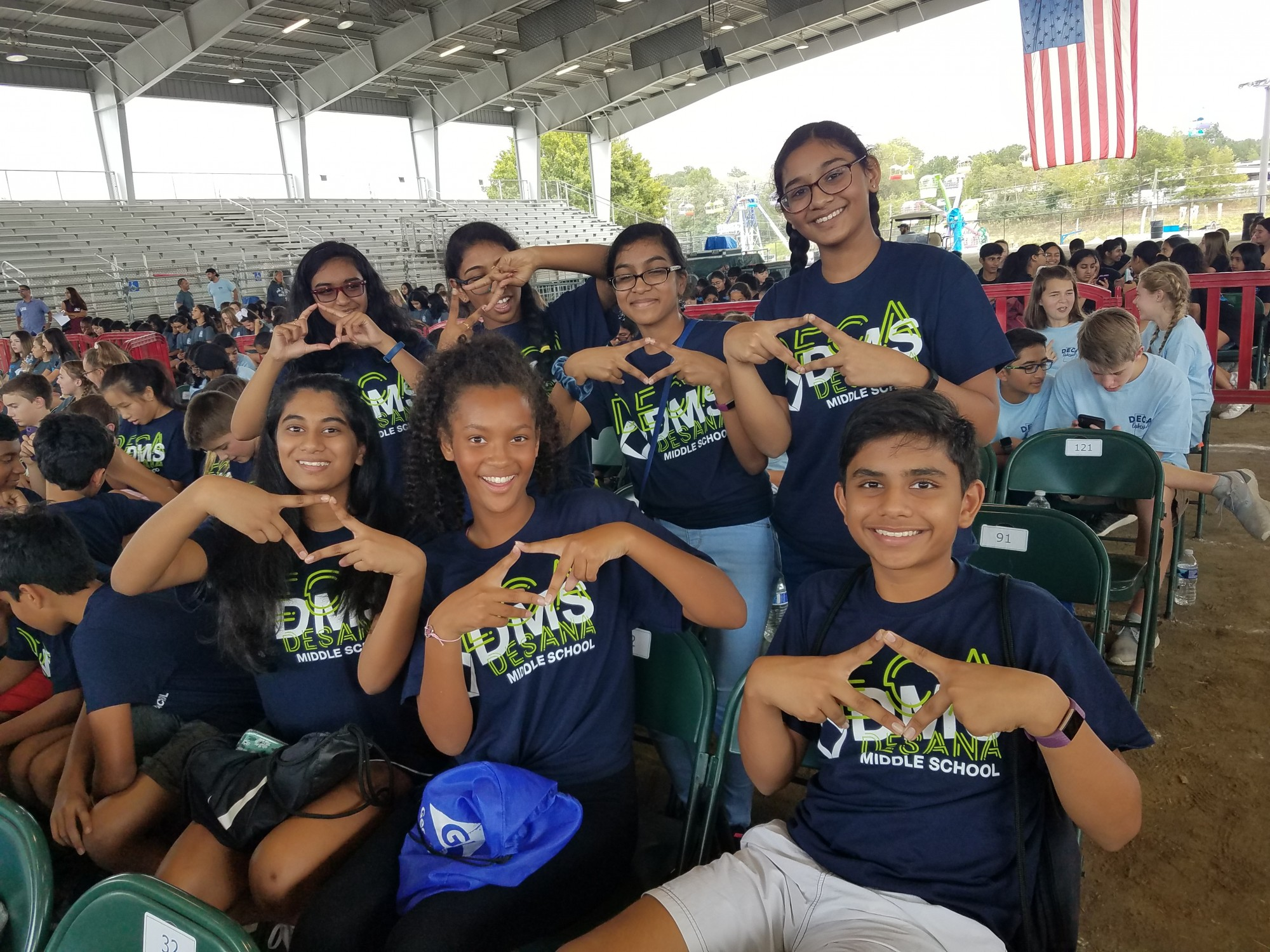 Forsyth County Middle School DECA Day at the Fair